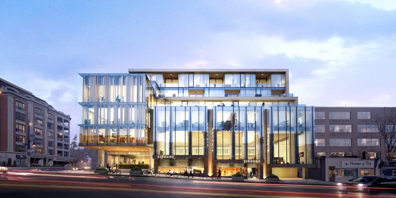 Hill and Dale Residences at 1027 Yonge St & 1-3 Roxborough St E. This condo is located in  Midtown, Toronto