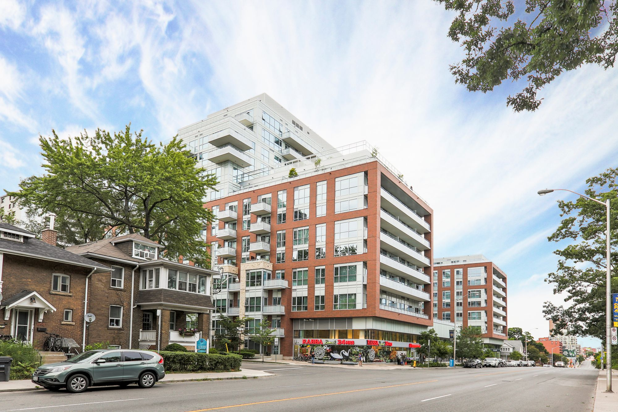 High Park Residences at 1830 Bloor St W. This condo is located in  West End, Toronto - image #1 of 8 by Strata.ca