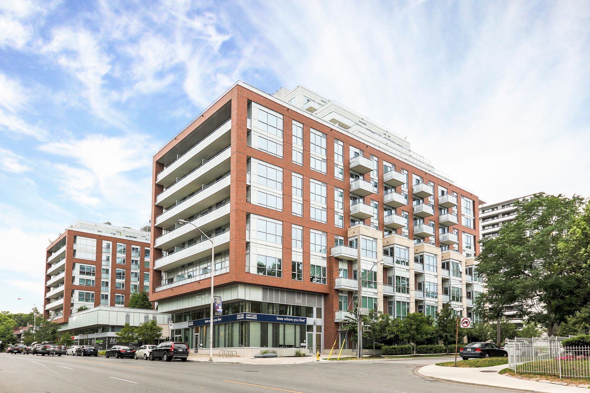 High Park Residences at 1830 Bloor St W. This condo is located in  West End, Toronto - image #2 of 8 by Strata.ca