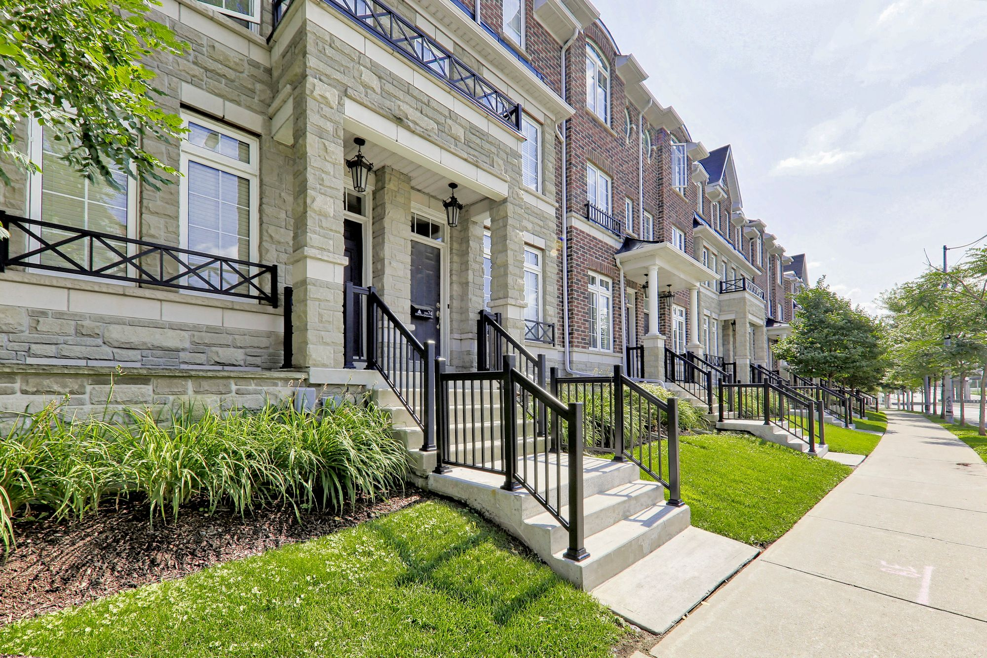 97-101 The Queensway. This condo townhouse at Windermere by The Lake Townhomes is located in  West End, Toronto - image #2 of 4 by Strata.ca