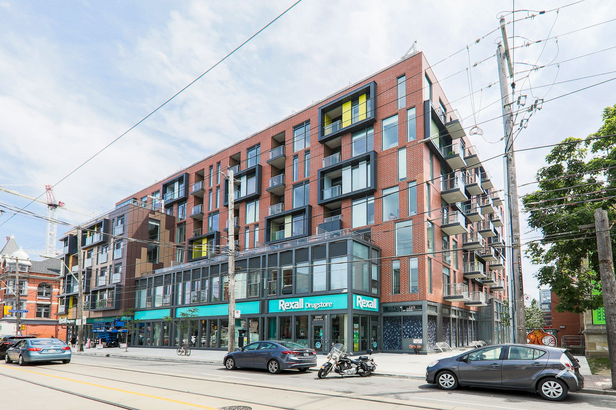 TEN93 Condos at 1093 Queen St W & 106 Dovercourt Rd. This loft is located in  West End, Toronto - image #1 of 5 by Strata.ca