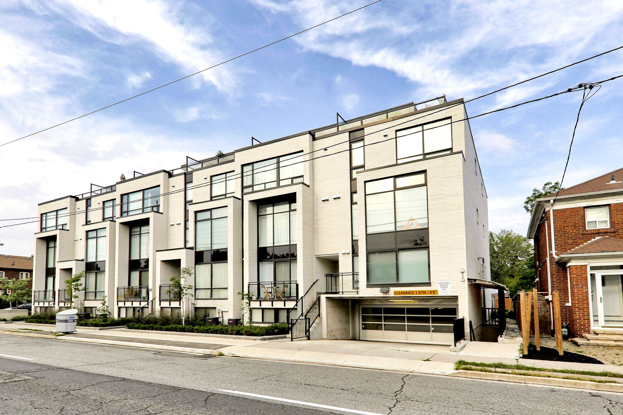 441 Jane St. This condo townhouse at The 23 at Baby Point is located in  West End, Toronto - image #1 of 4 by Strata.ca