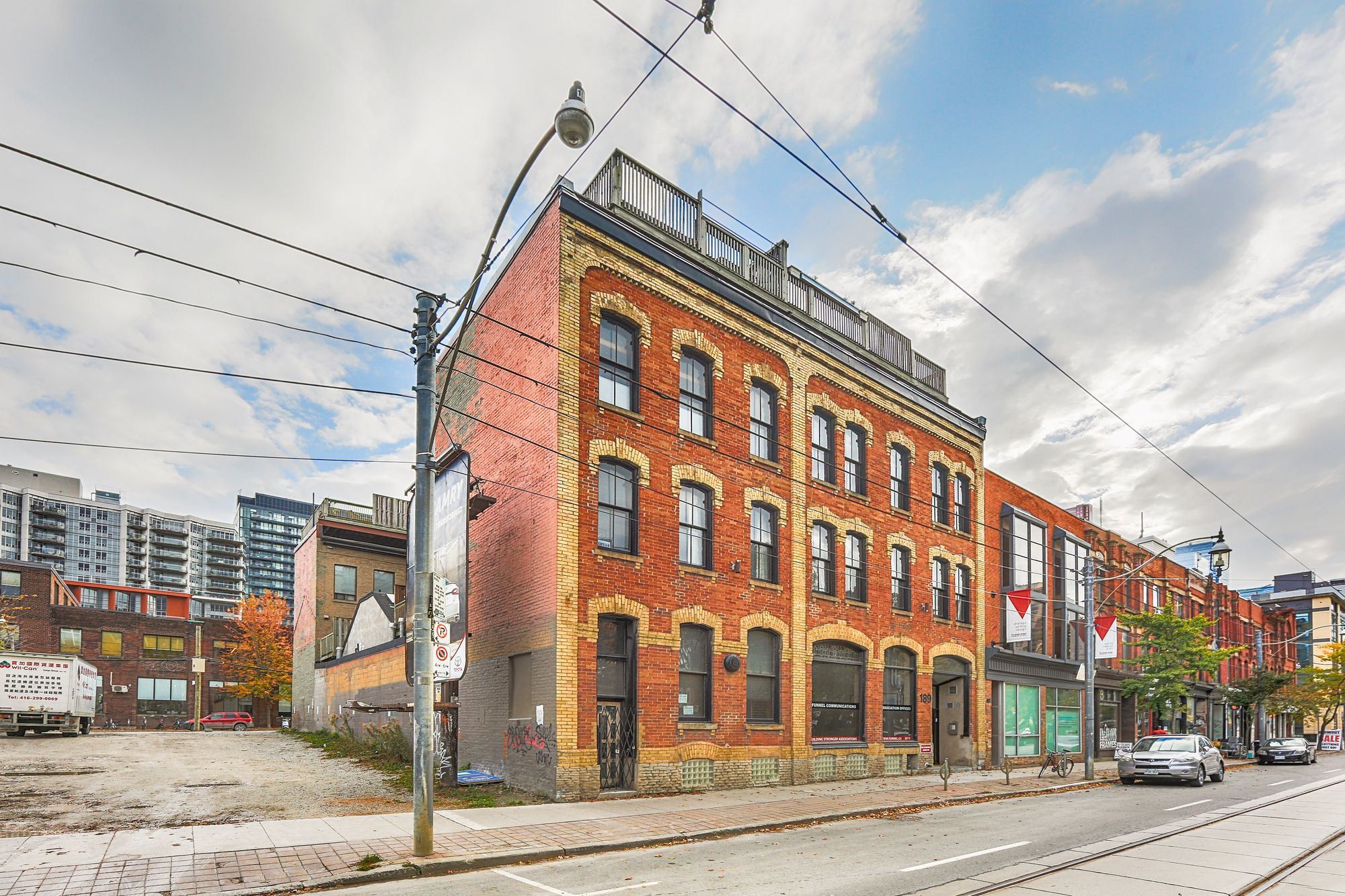 189 Queen St E. This loft at Boiler Factory Lofts is located in  Downtown, Toronto - image #1 of 4 by Strata.ca