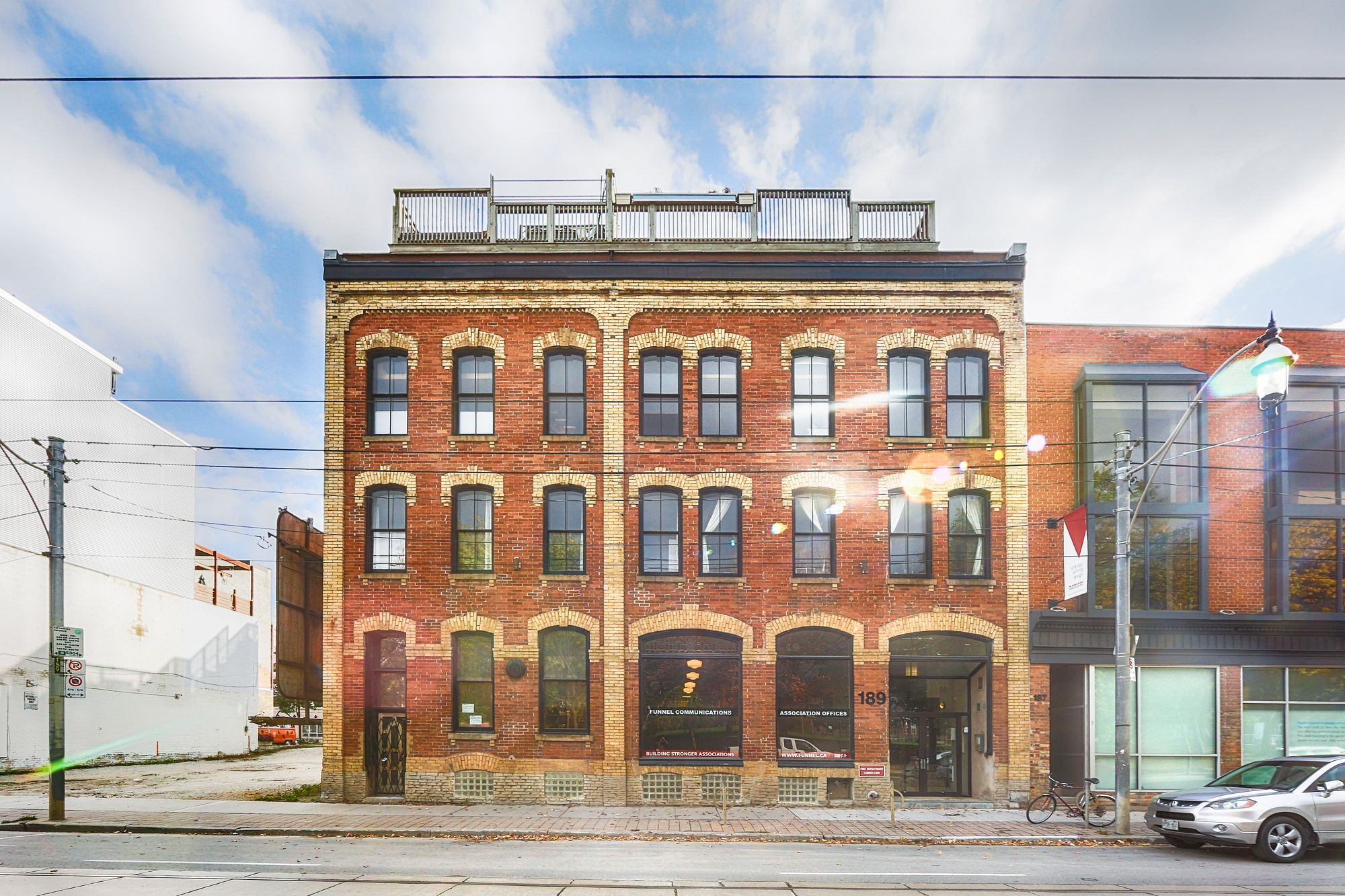189 Queen St E. This loft at Boiler Factory Lofts is located in  Downtown, Toronto - image #2 of 4 by Strata.ca