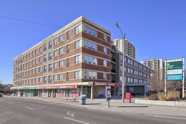 The Amesbury Condos at 1415 Lawrence Ave W. This condo is located in  North York, Toronto