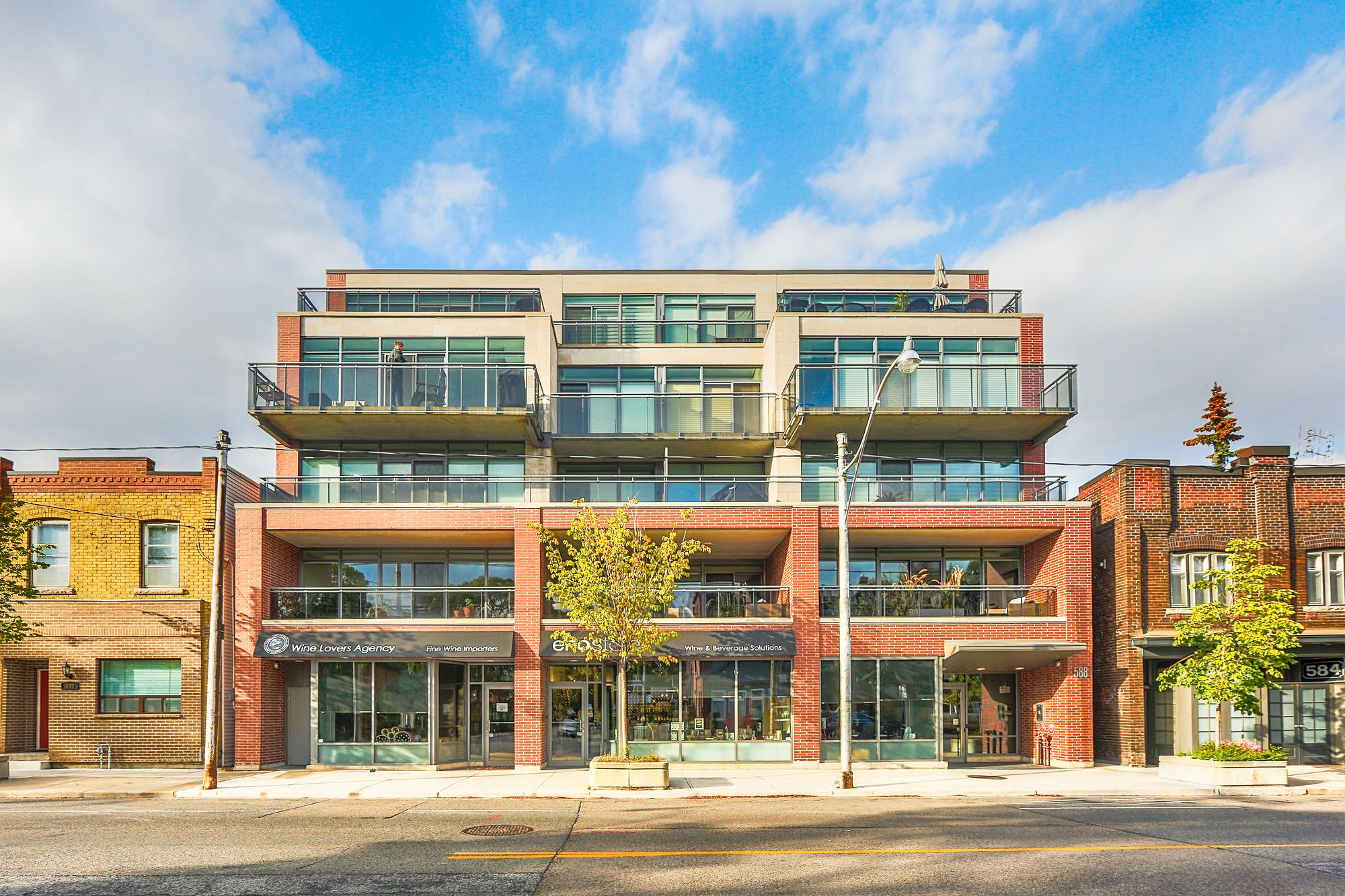 588 Annette St. This loft at Volta Lofts is located in  West End, Toronto - image #2 of 4 by Strata.ca
