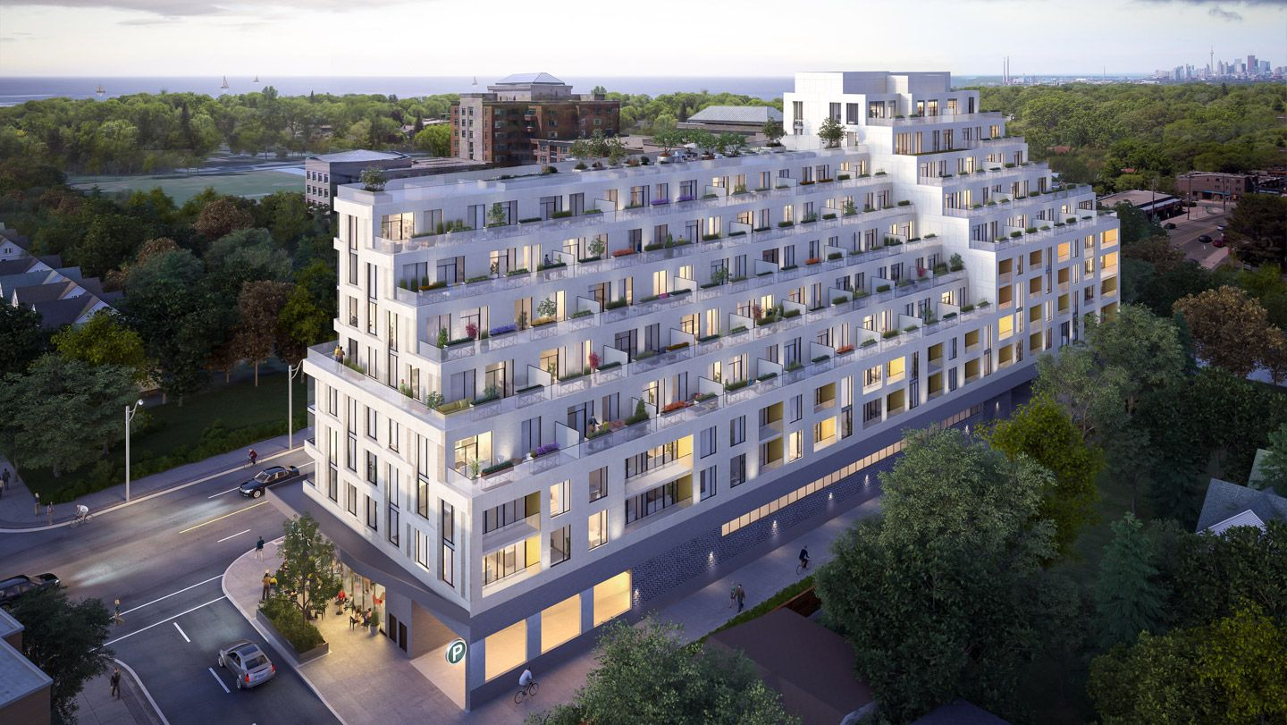 1100 Kingston Rd. This condo at Kingston & Co Condos is located in  Scarborough, Toronto
