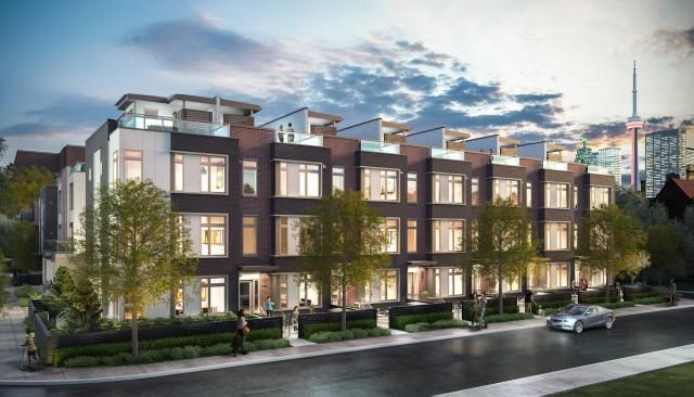 53-63 Sutton Ave. This condo townhouse at Sutton Collection Townhomes is located in  Downtown, Toronto