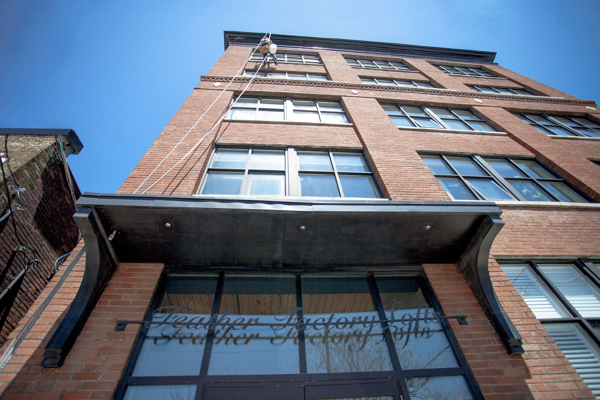 2154 Dundas St W. This loft at Feather Factory Lofts is located in  West End, Toronto - image #2 of 5 by Strata.ca