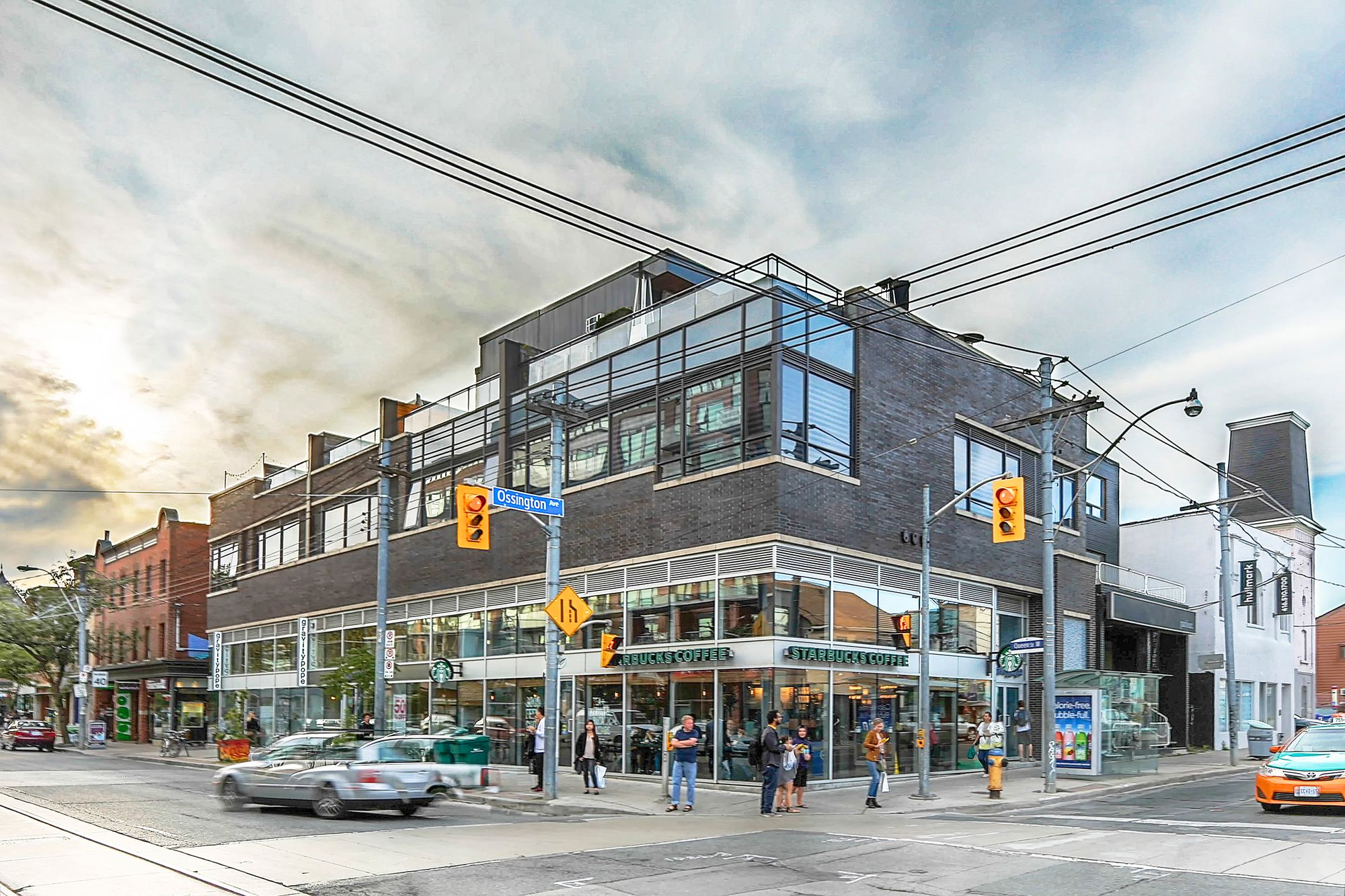 2 Ossington Ave. This loft at 2 Ossington Lofts is located in  West End, Toronto - image #1 of 4 by Strata.ca