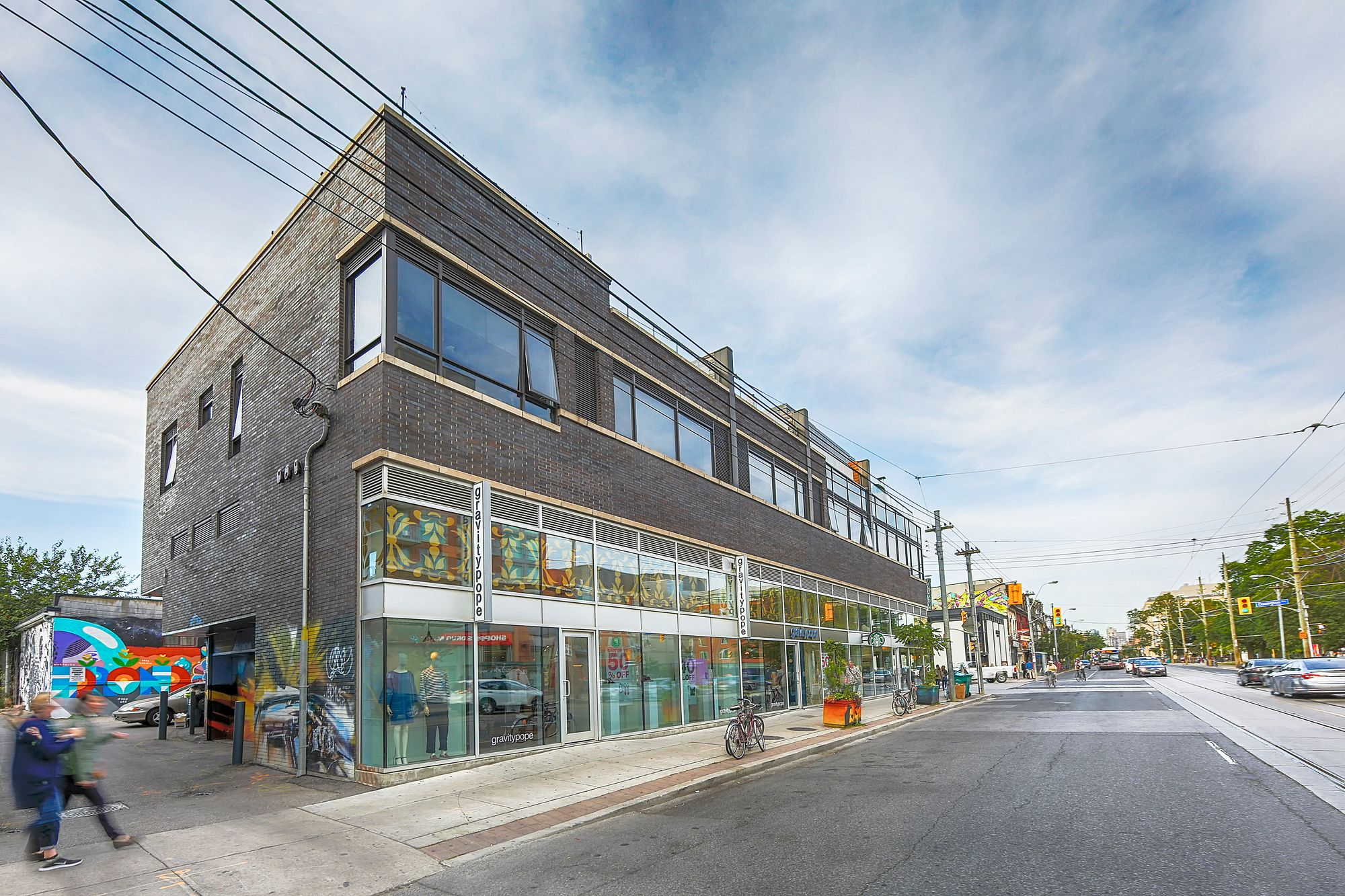 2 Ossington Ave. This loft at 2 Ossington Lofts is located in  West End, Toronto - image #2 of 4 by Strata.ca