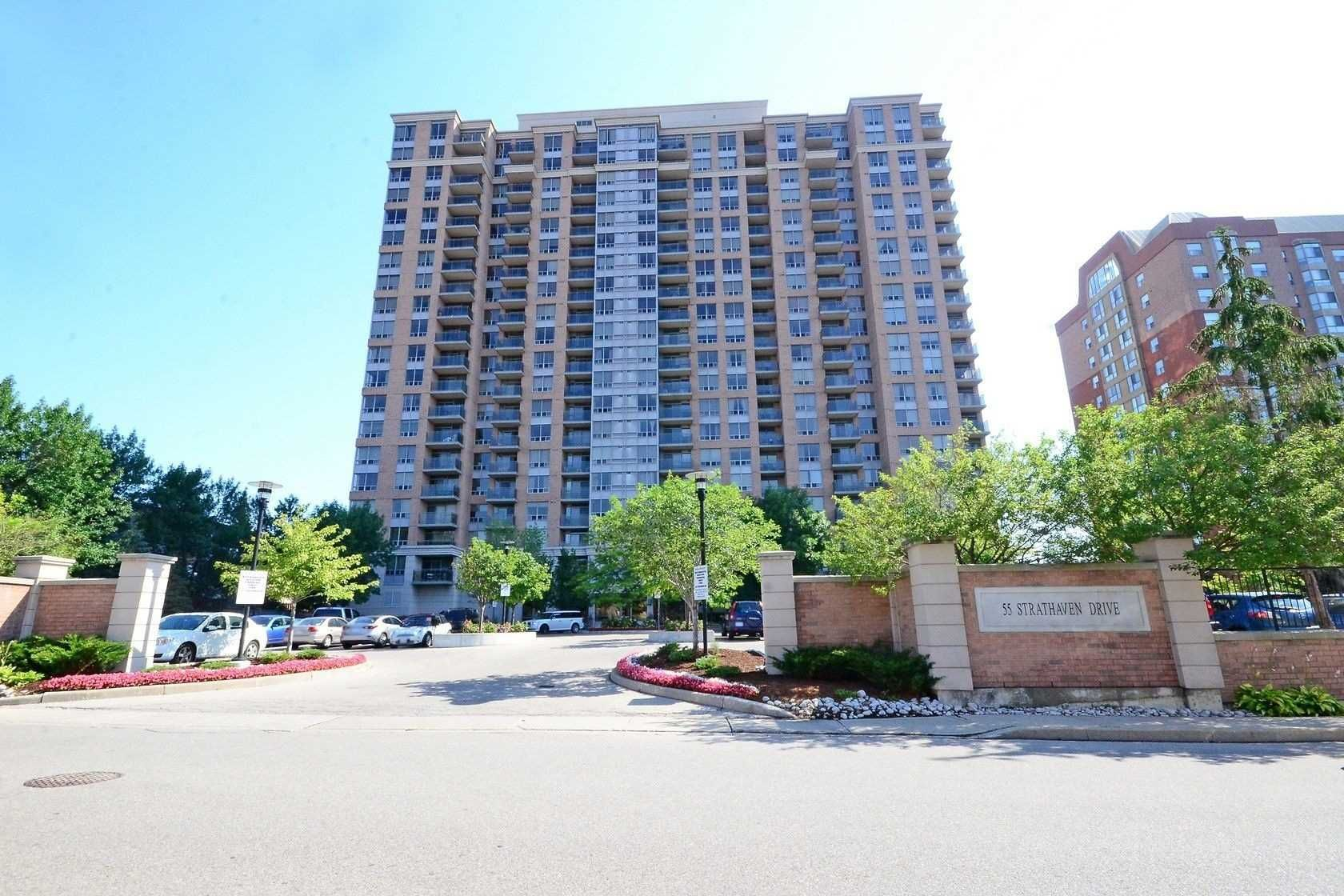 55 Strathaven Dr. This condo at The Residences of Strathaven Condos is located in Hurontario, Mississauga