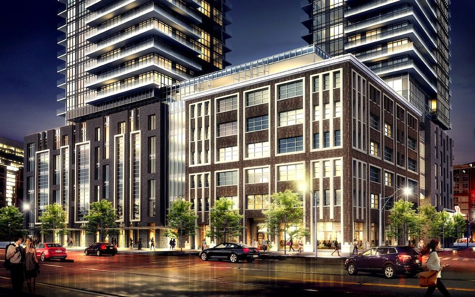 King Blue Condos at 115-125 Blue Jays Way & 355 King St W. This condo is located in  Downtown, Toronto