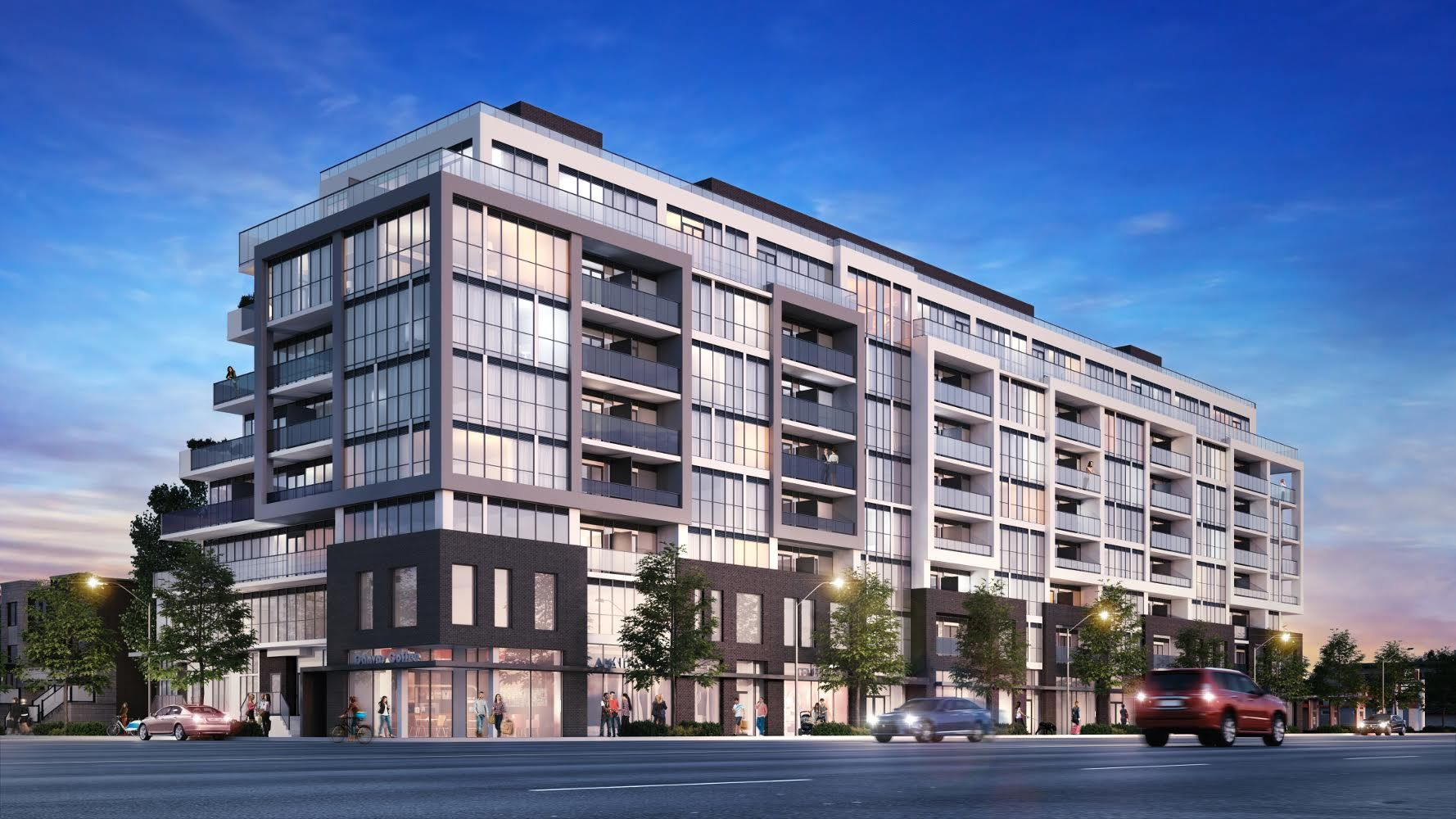 Canvas Condos at 2301 Danforth & 2315 Danforth Ave. This condo is located in  East End, Toronto