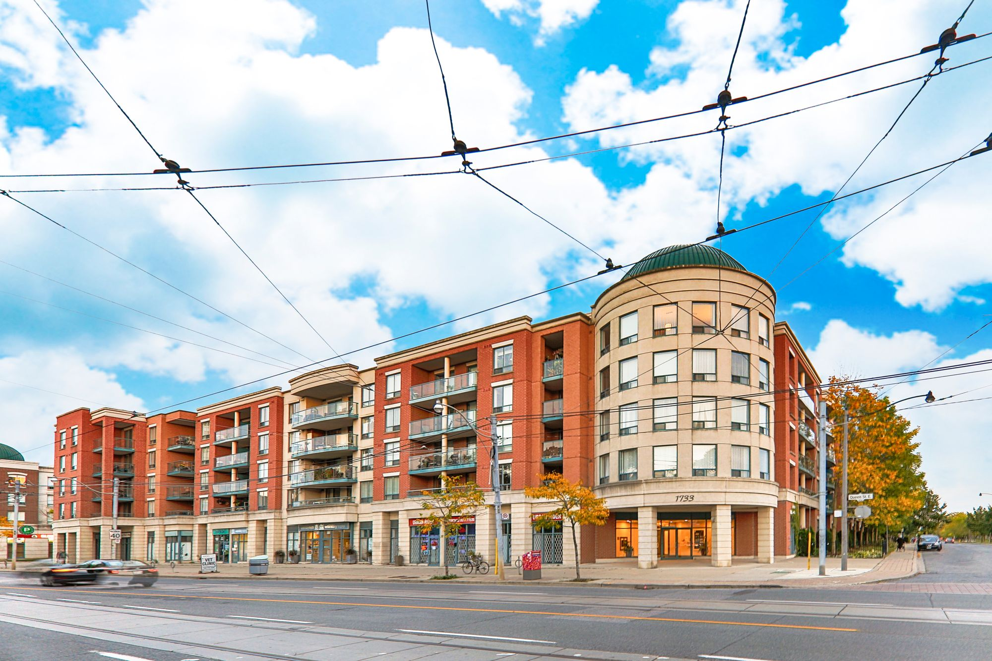 The Beach Condominiums IV at 1733 Queen St E. This condo is located in  East End, Toronto - image #2 of 5 by Strata.ca