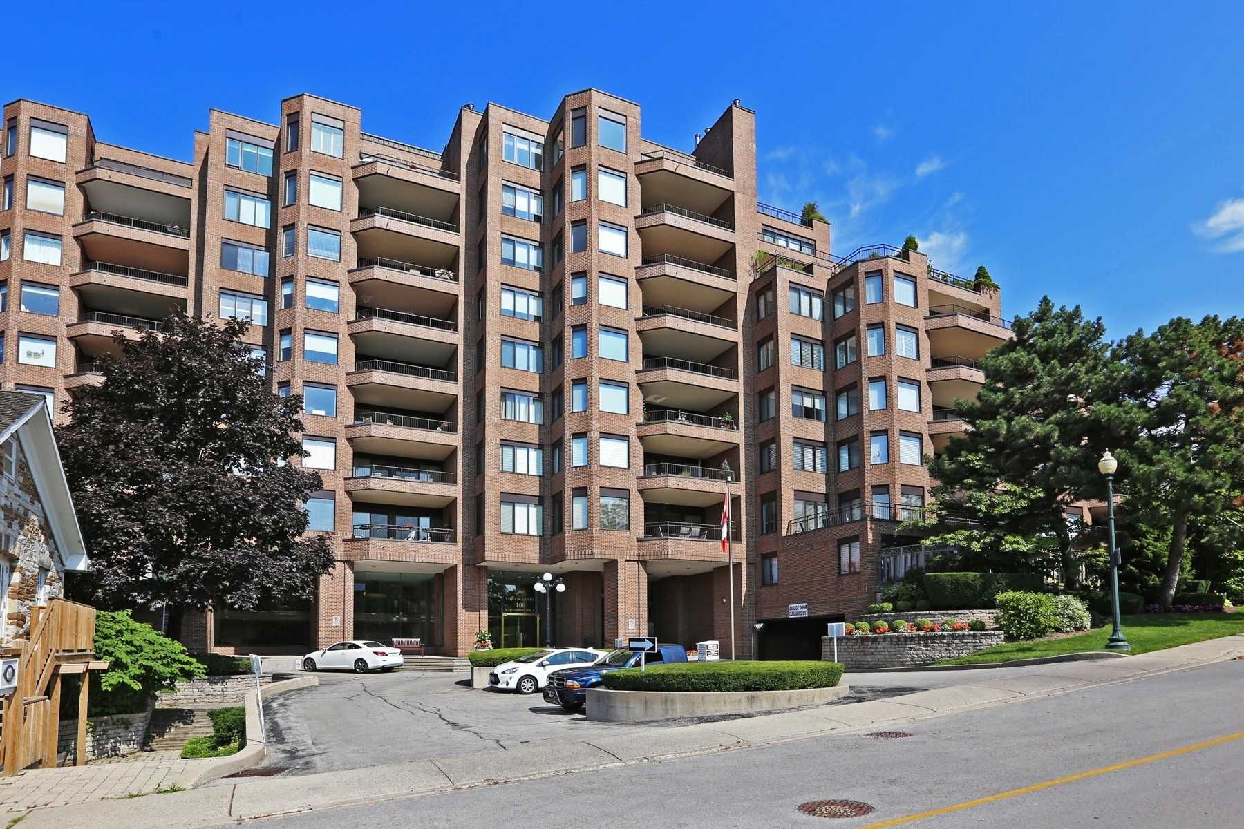 The Granary Condos at 100 Lakeshore Rd E. This condo is located in Eastlake, Oakville