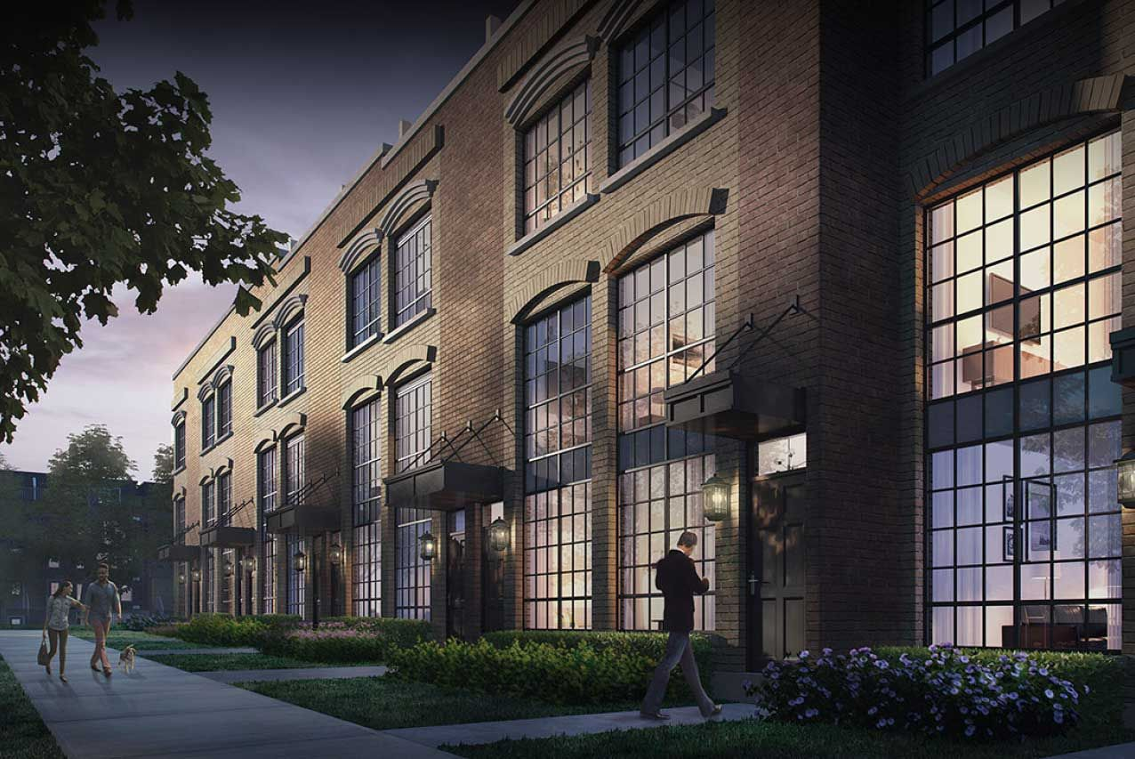 Heritage Towns on the Trail at 26 Ernest Ave. This condo townhouse is located in  West End, Toronto