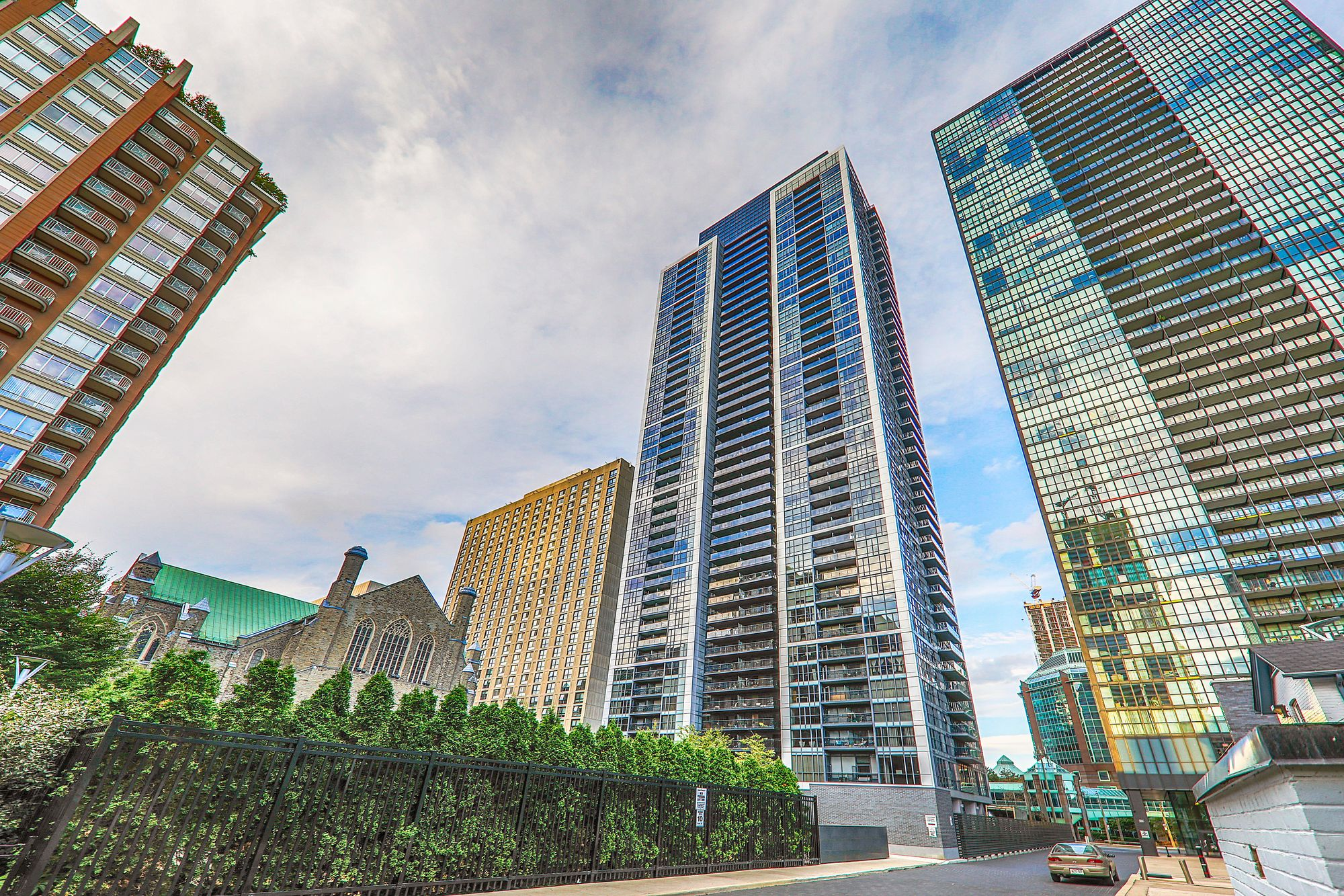 Couture at 28 Ted Rogers Way. This condo is located in  Downtown, Toronto - image #2 of 5 by Strata.ca