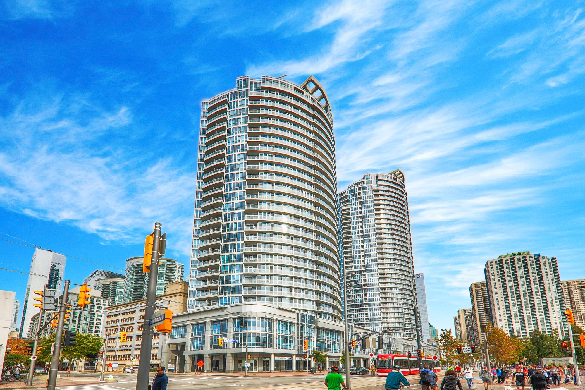 218 Queens Quay W. This condo at Waterclub III Condos is located in  Downtown, Toronto - image #1 of 4 by Strata.ca