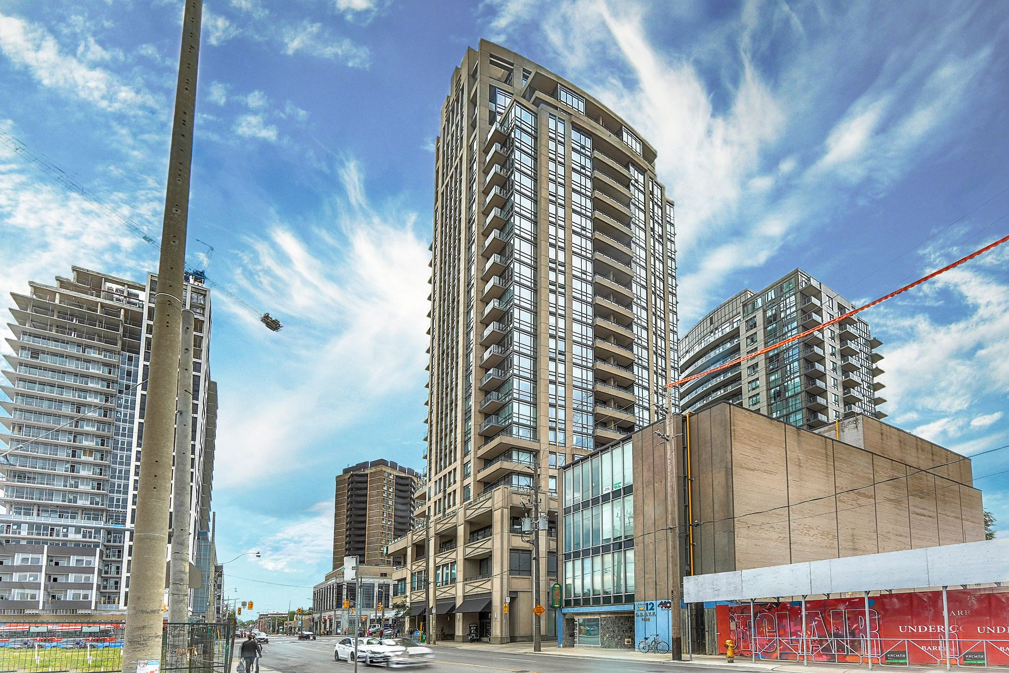 The Forest Hill at 500 St Clair Ave W. This condo is located in  Midtown, Toronto - image #2 of 7 by Strata.ca