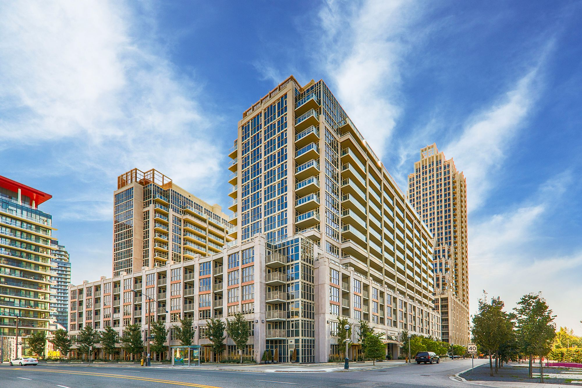 York Harbour Club at 23-39 Bastion St, 181-195 Fort York Blvd, 22-42 Grand Magazine St & 80-96 Sloping Sky Mews. This condo is located in  Downtown, Toronto - image #1 of 5 by Strata.ca