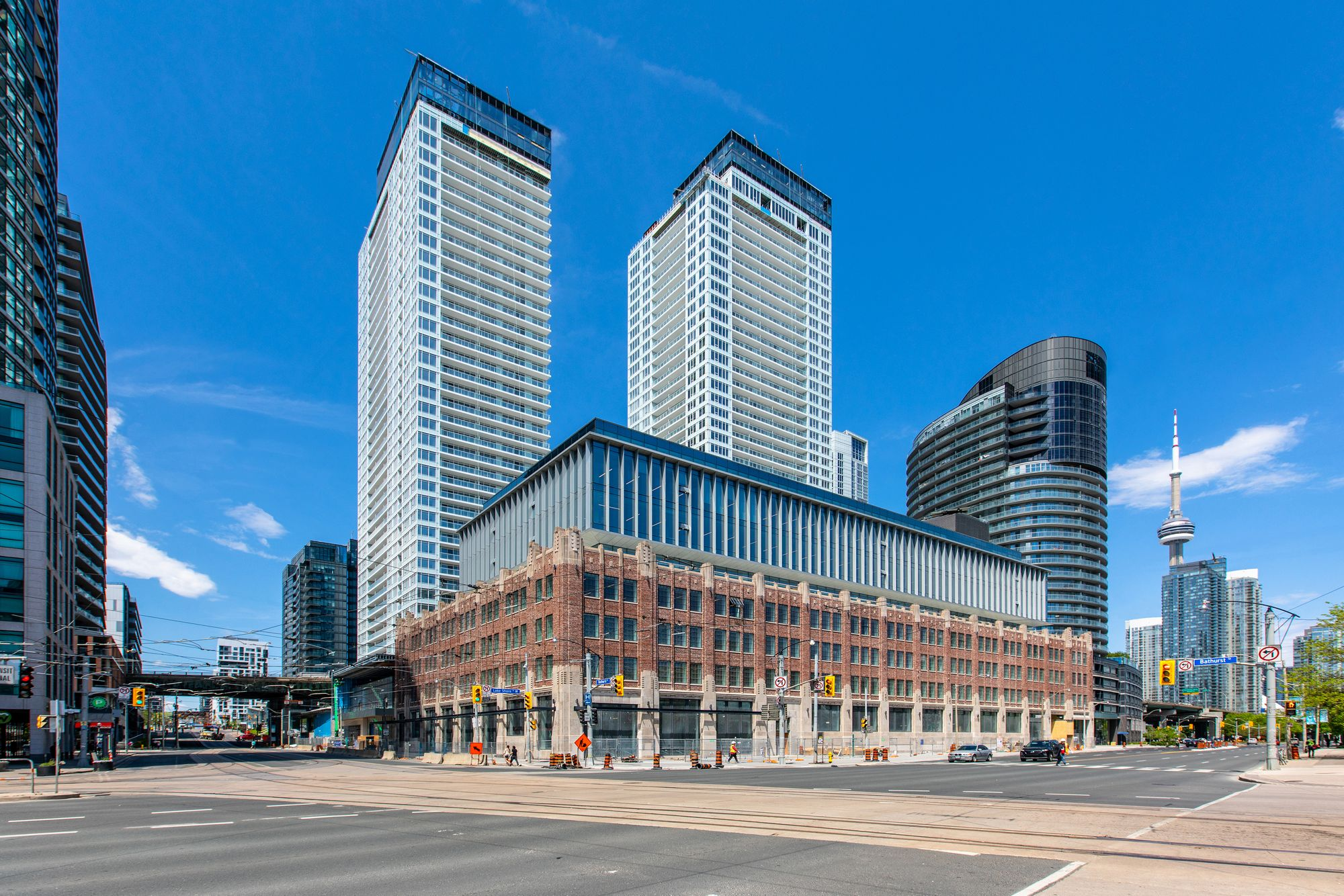 The LakeShore Condos at 500 Lake Shore Blvd W & 19 Bathurst St. This condo is located in  Downtown, Toronto