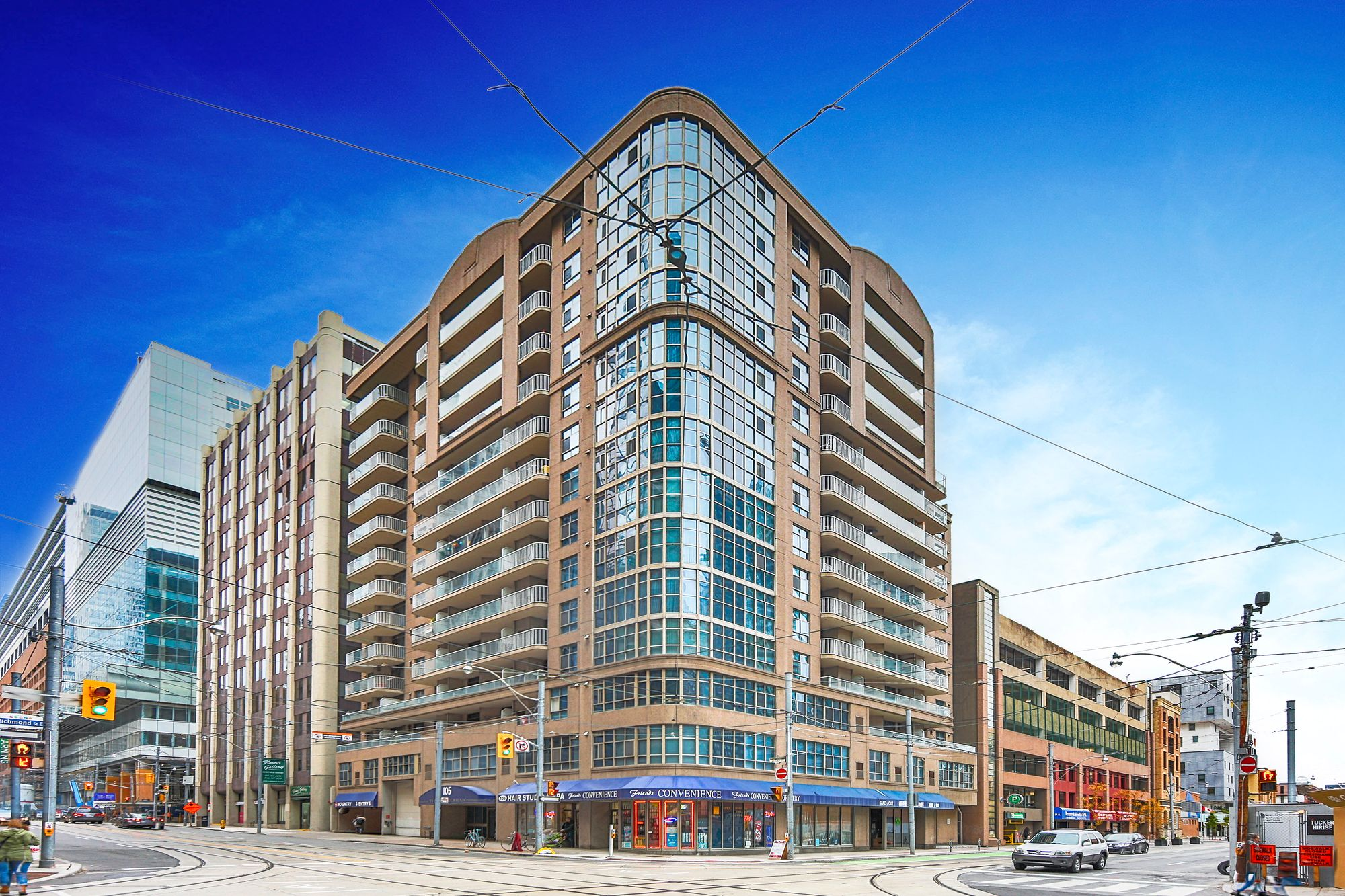 105 Victoria St. This condo at The Victorian is located in  Downtown, Toronto - image #1 of 4 by Strata.ca