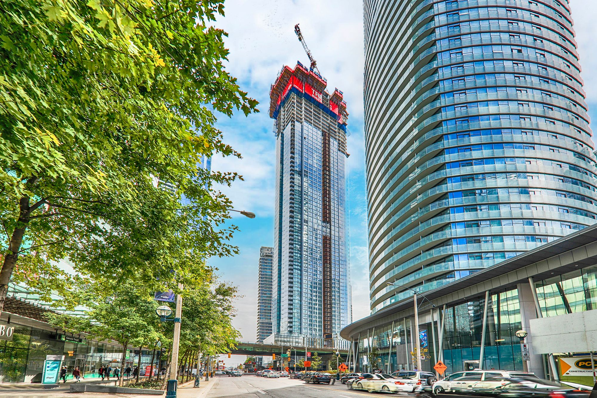 Ten York at 120 Harbour St & 10 York St. This condo is located in  Downtown, Toronto