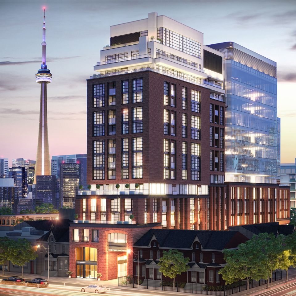 501 Adelaide St W. This condo at Kingly Condos is located in  Downtown, Toronto