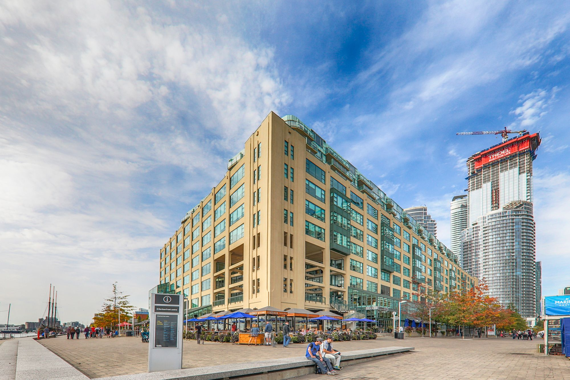 Queens Quay Terminal at 211 Queens Quay W. This condo is located in  Downtown, Toronto - image #1 of 4 by Strata.ca