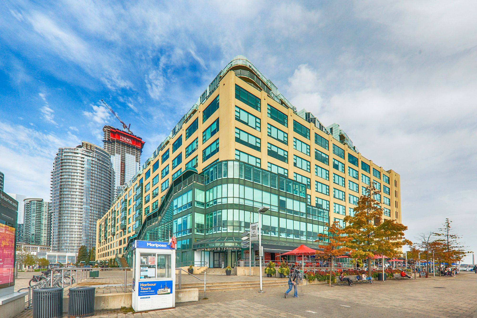 Queens Quay Terminal at 211 Queens Quay W. This condo is located in  Downtown, Toronto - image #2 of 4 by Strata.ca