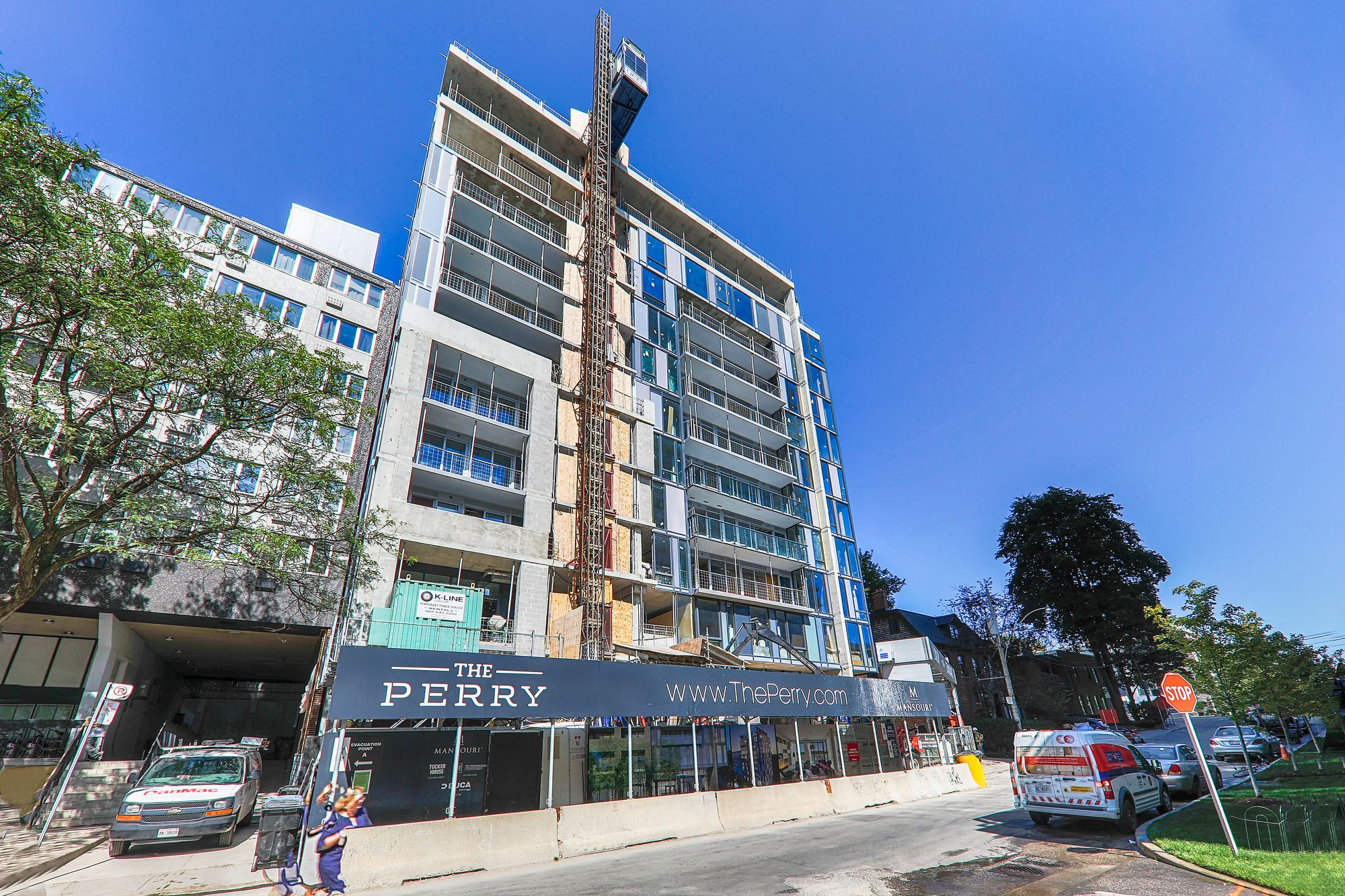 The Perry at 128 Pears Ave. This condo is located in  Downtown, Toronto - image #1 of 2 by Strata.ca