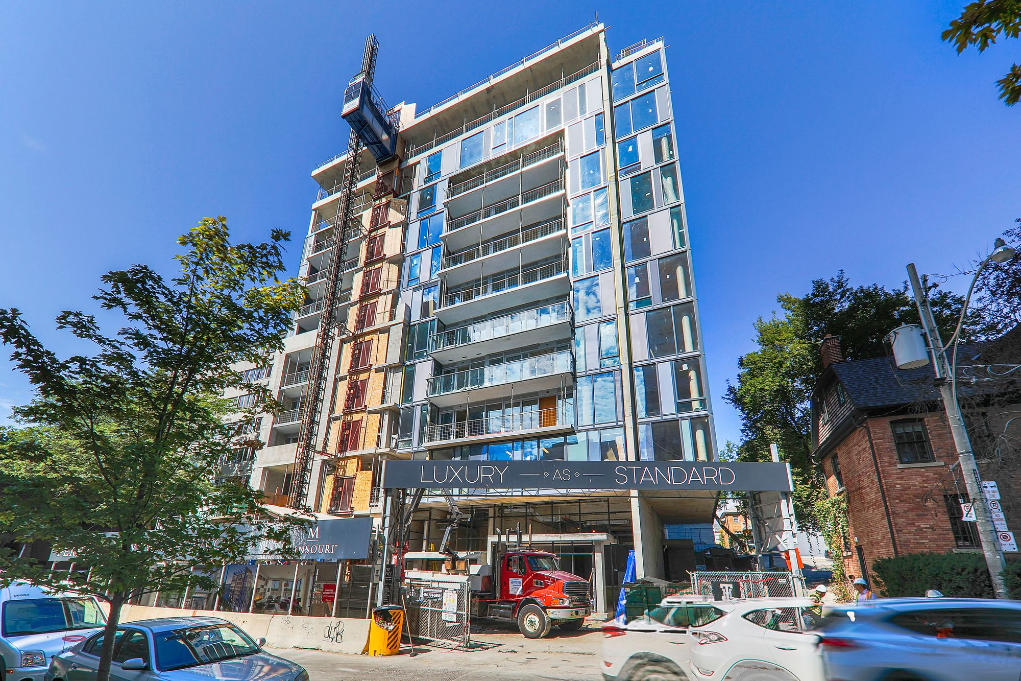 The Perry at 128 Pears Ave. This condo is located in  Downtown, Toronto - image #2 of 2 by Strata.ca