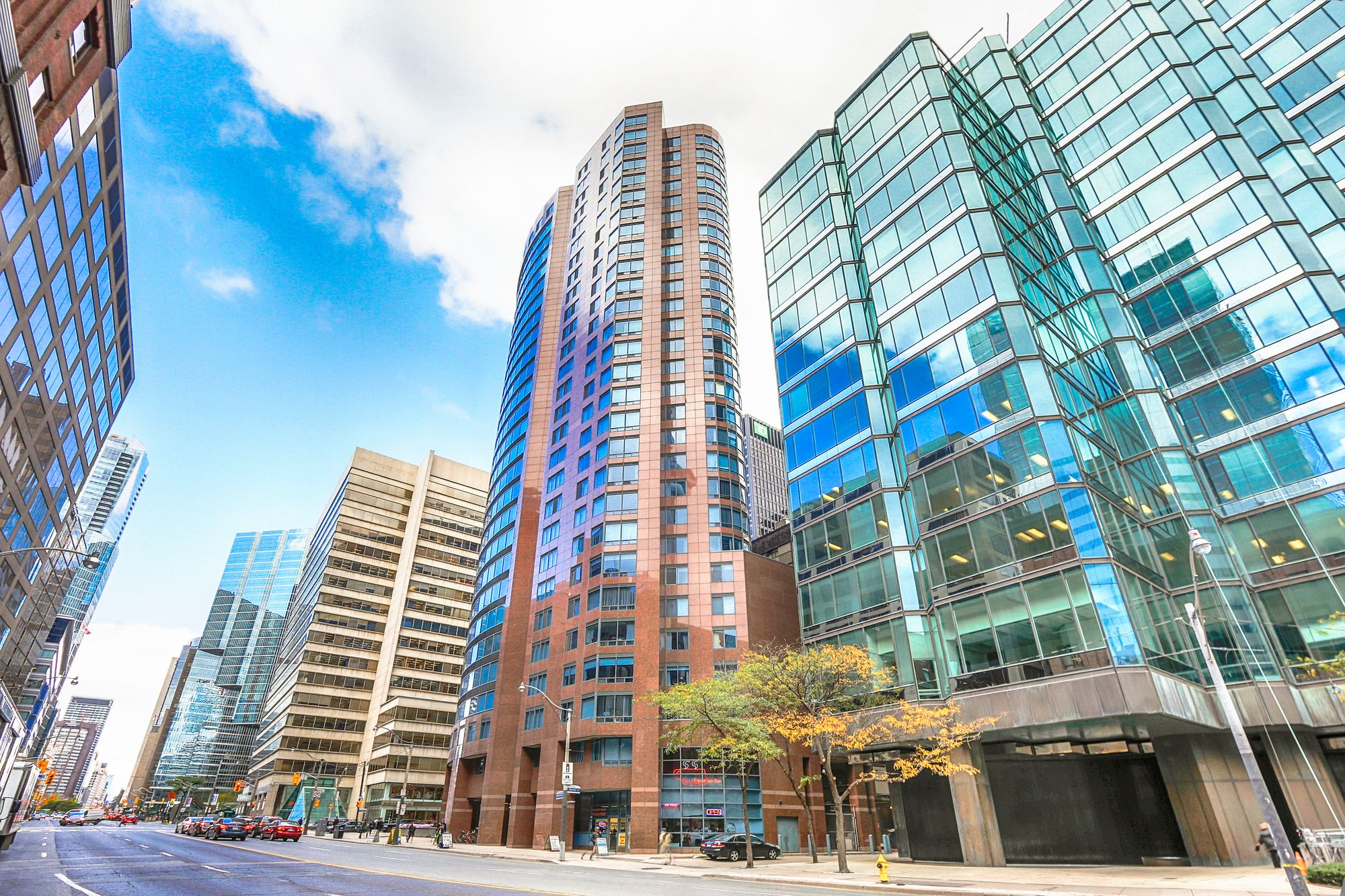 33 University Ave. This condo at Empire Plaza is located in  Downtown, Toronto - image #1 of 4 by Strata.ca