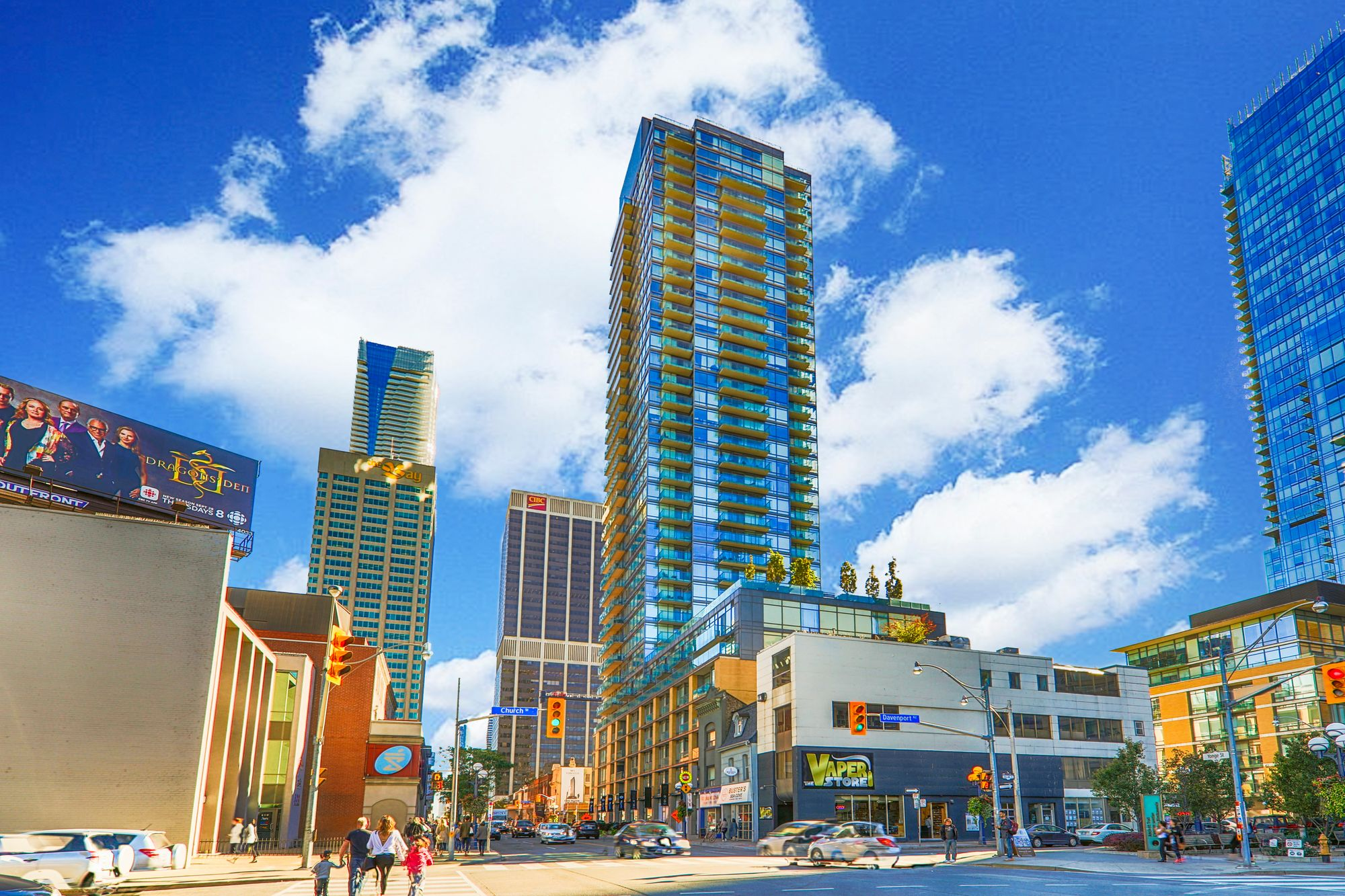 18 Yorkville at 18 Yorkville Ave. This condo is located in  Downtown, Toronto - image #2 of 7 by Strata.ca