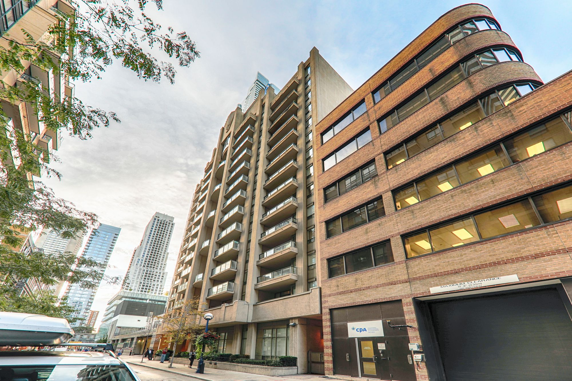 Tiffany Terrace at 30 Hayden St. This condo is located in  Downtown, Toronto - image #2 of 4 by Strata.ca