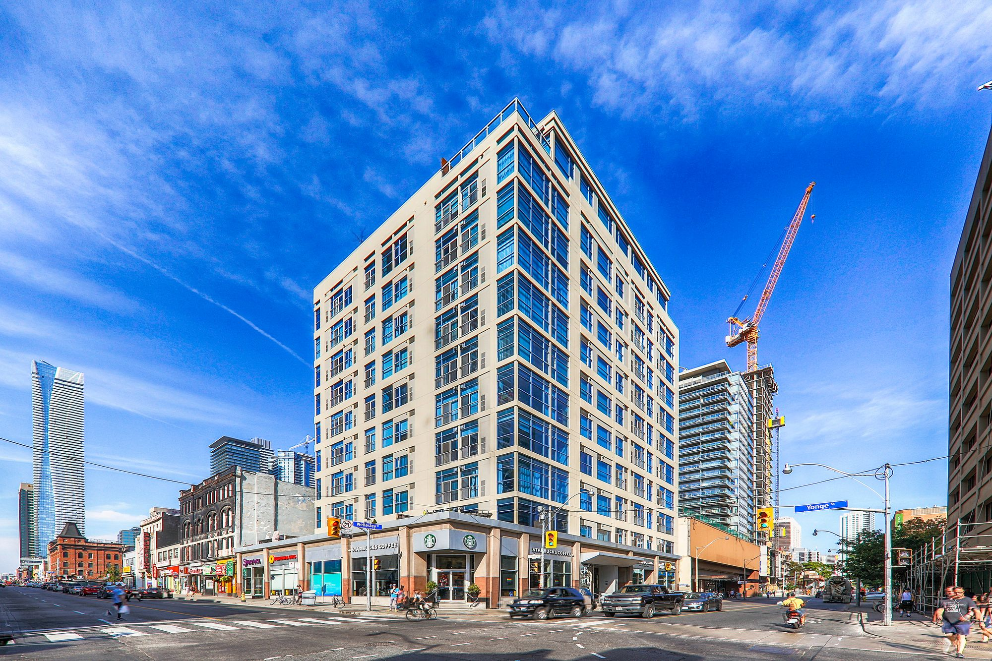 Eight Wellesley Street East at 8 Wellesley St. This condo is located in  Downtown, Toronto - image #1 of 4 by Strata.ca