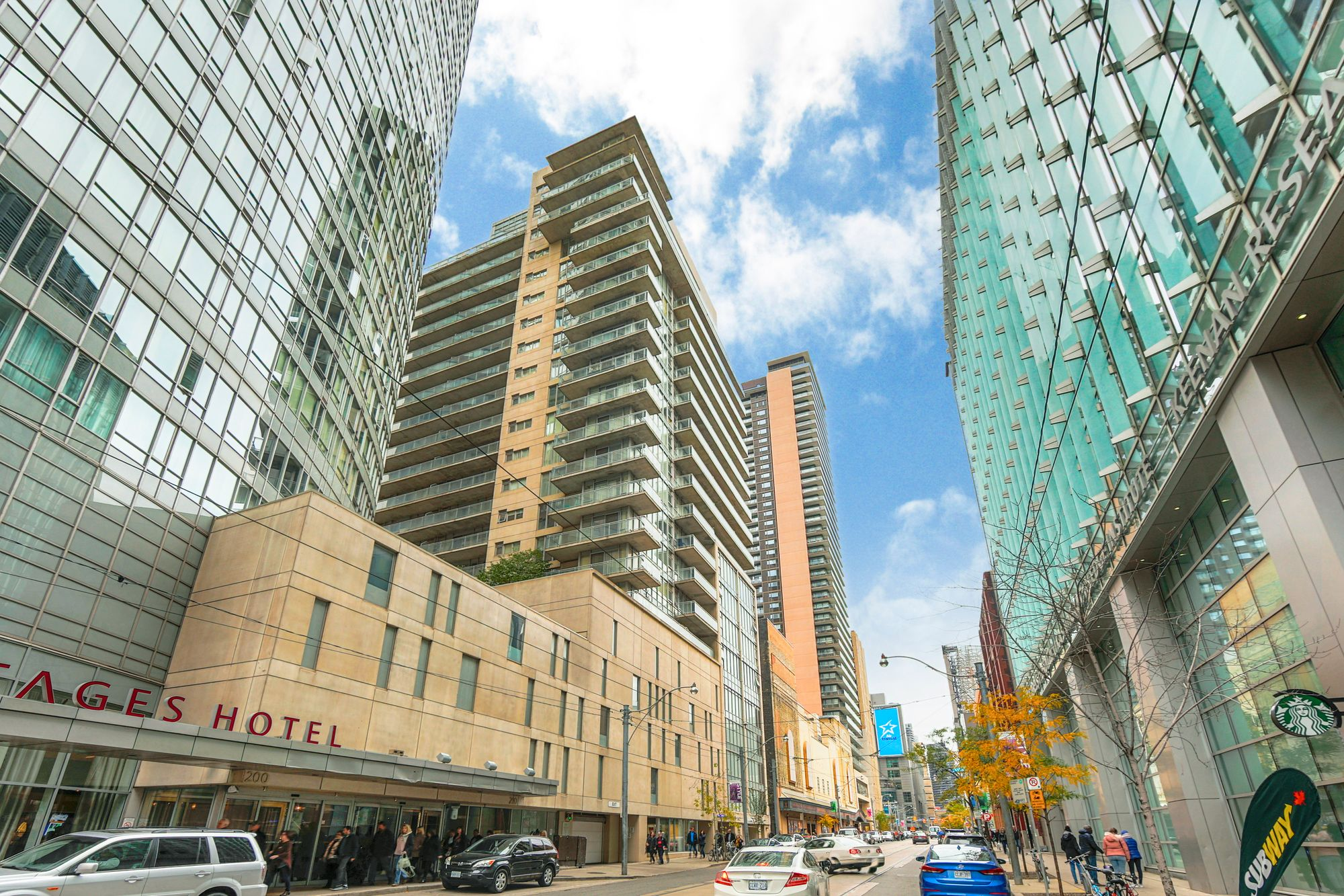 220 Victoria St. This condo at Opus at Pantages is located in  Downtown, Toronto - image #2 of 4 by Strata.ca