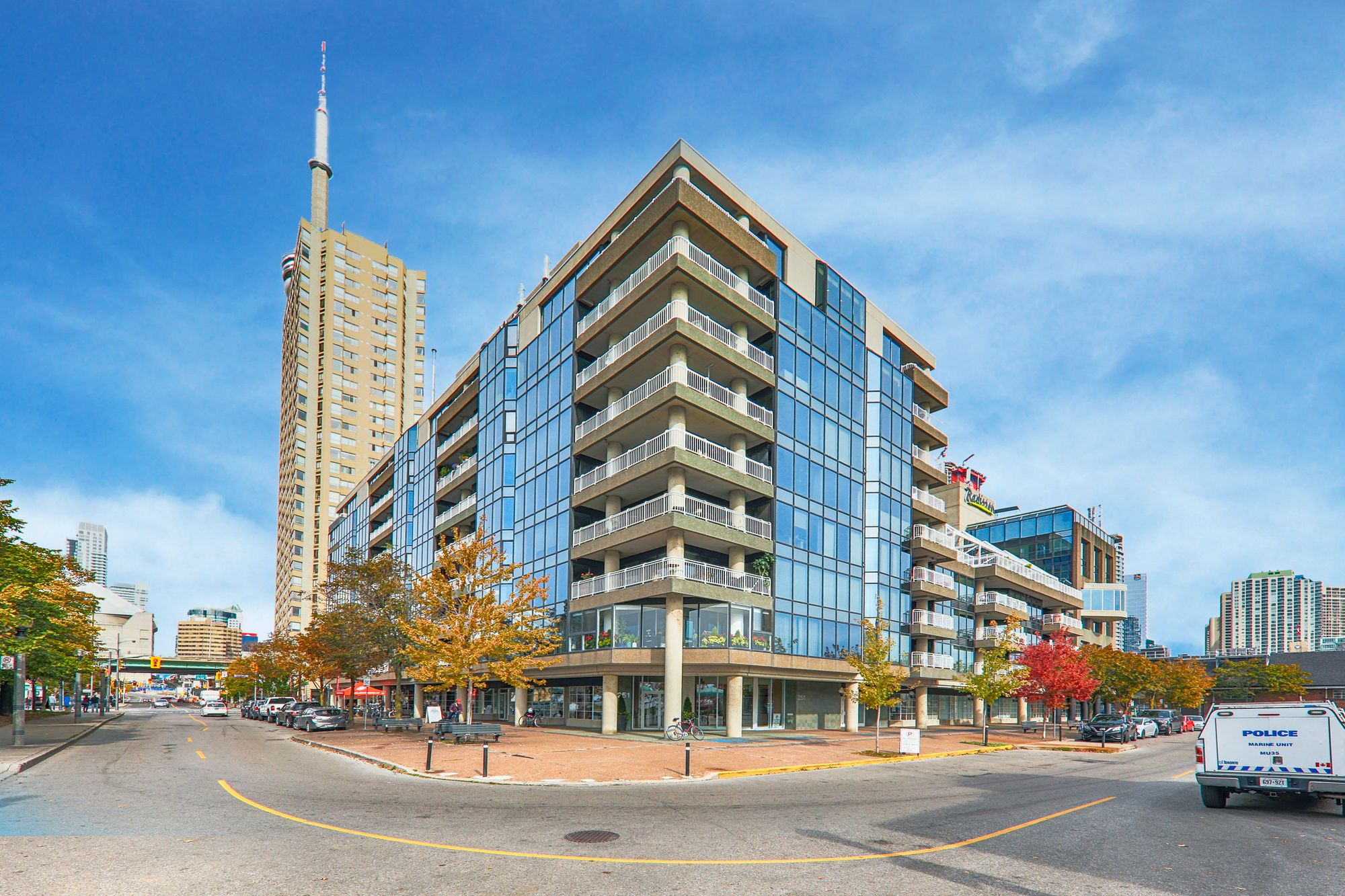 Admiralty Point at 251 Queens Quay W. This condo is located in  Downtown, Toronto - image #1 of 4 by Strata.ca