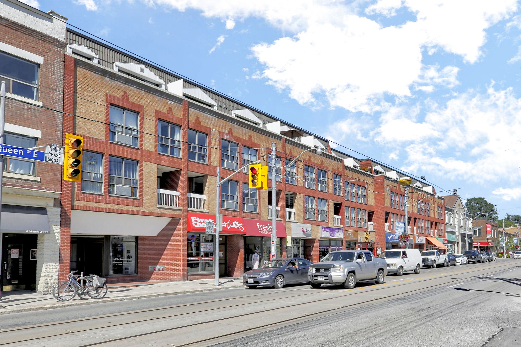 2112 Queen St E. This condo townhouse at The Hammersmith is located in  East End, Toronto - image #1 of 4 by Strata.ca