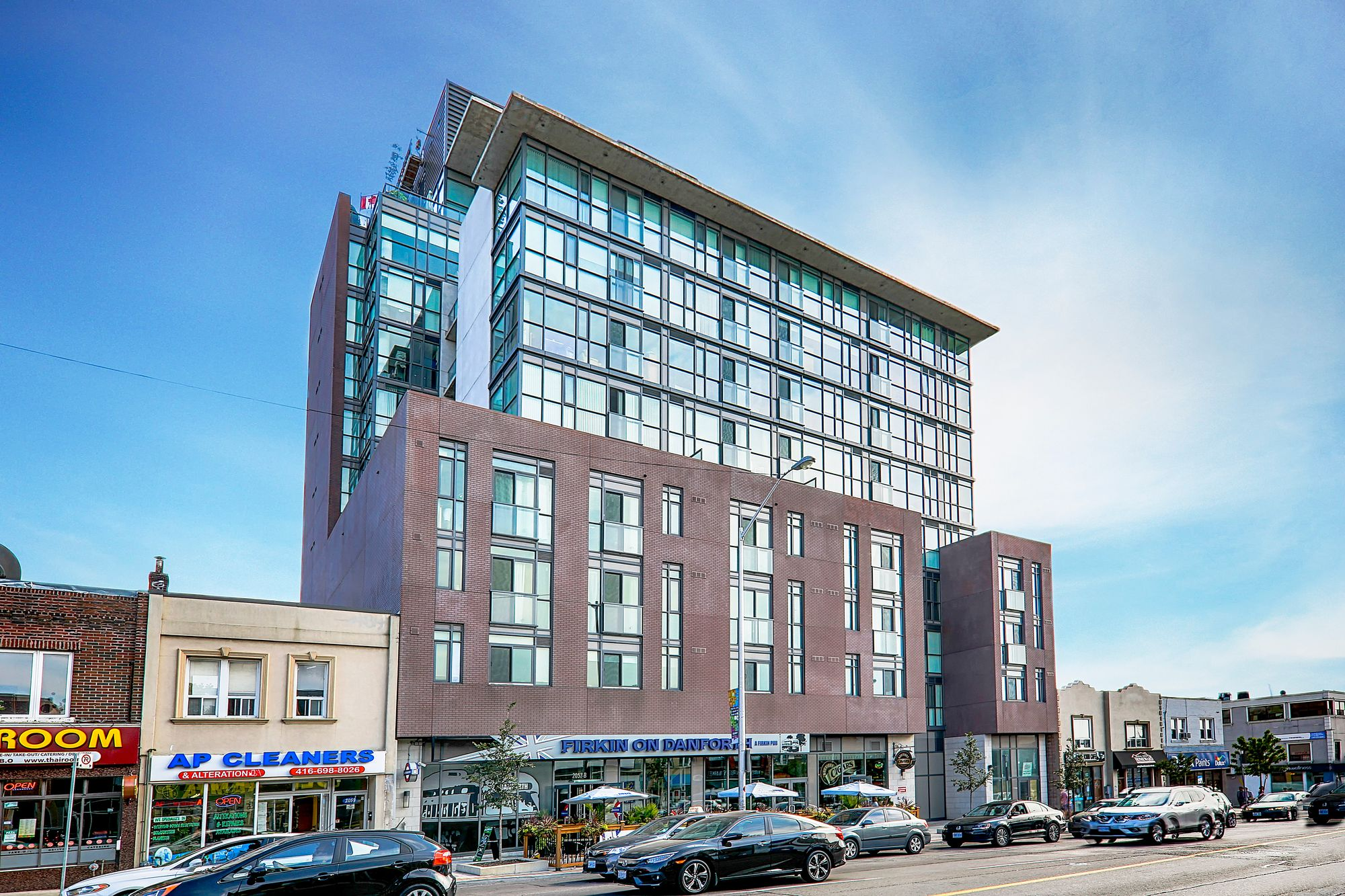 2055 Danforth Avenue. This condo at Carmelina Condos is located in  East End, Toronto - image #1 of 5 by Strata.ca