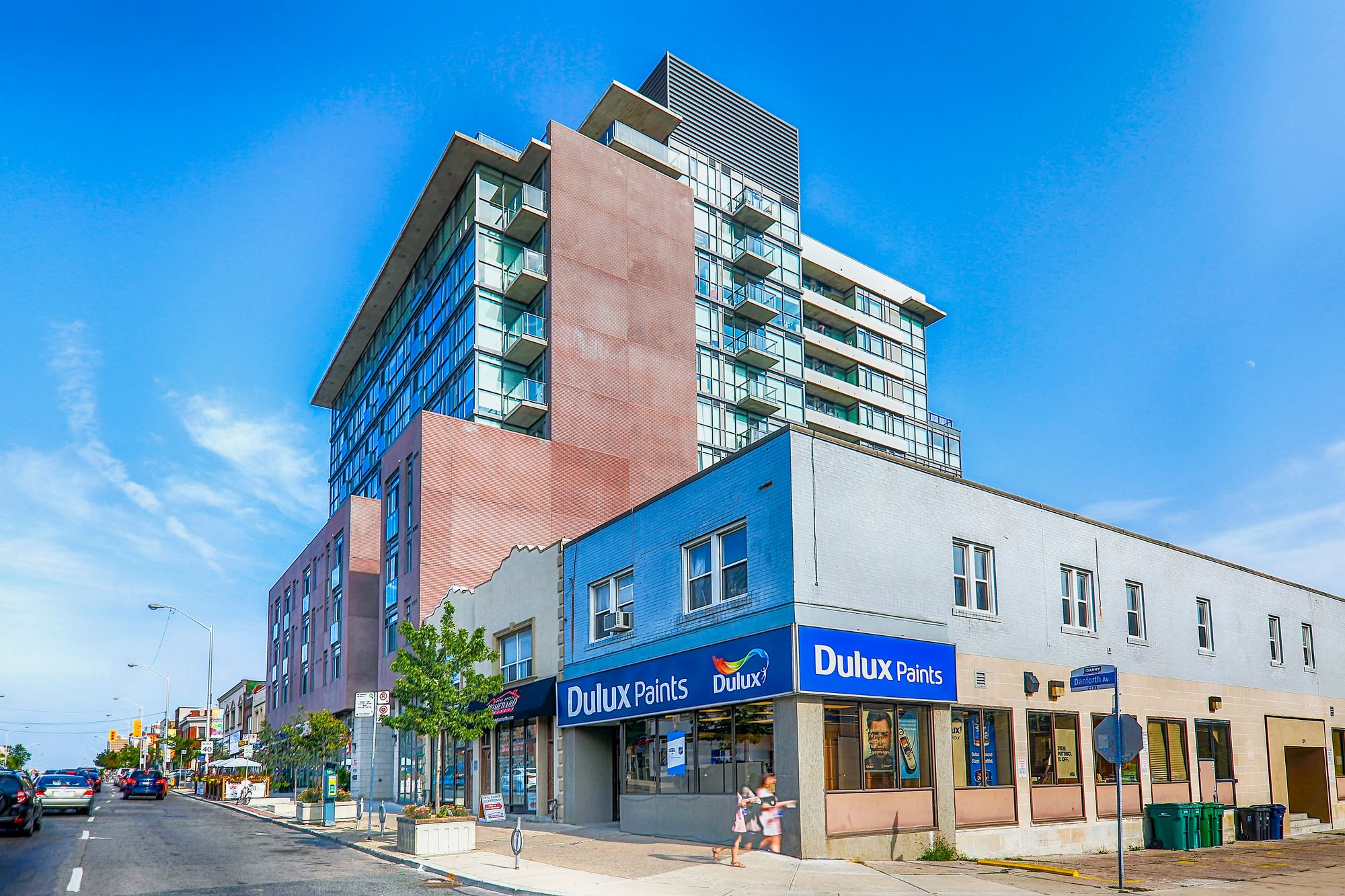2055 Danforth Avenue. This condo at Carmelina Condos is located in  East End, Toronto - image #2 of 5 by Strata.ca