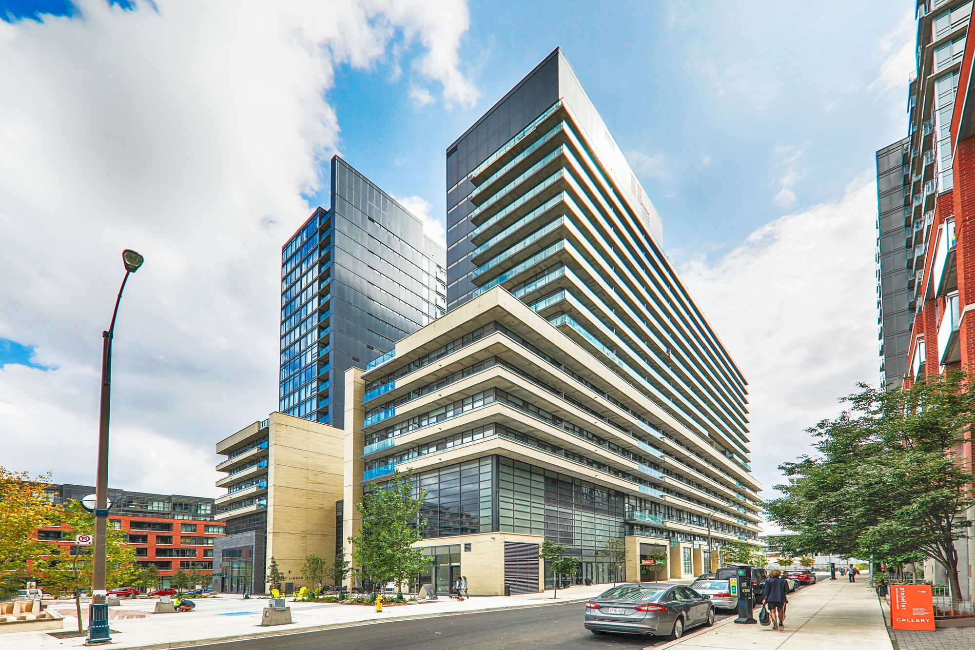 36 Lisgar St. This condo at Edge on Triangle Park is located in  West End, Toronto - image #1 of 4 by Strata.ca