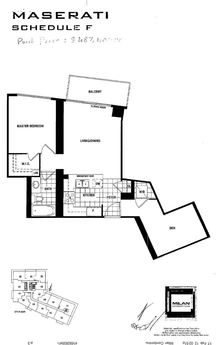 The Milan At 825 Church St Unit 919 For Rent Strata Ca