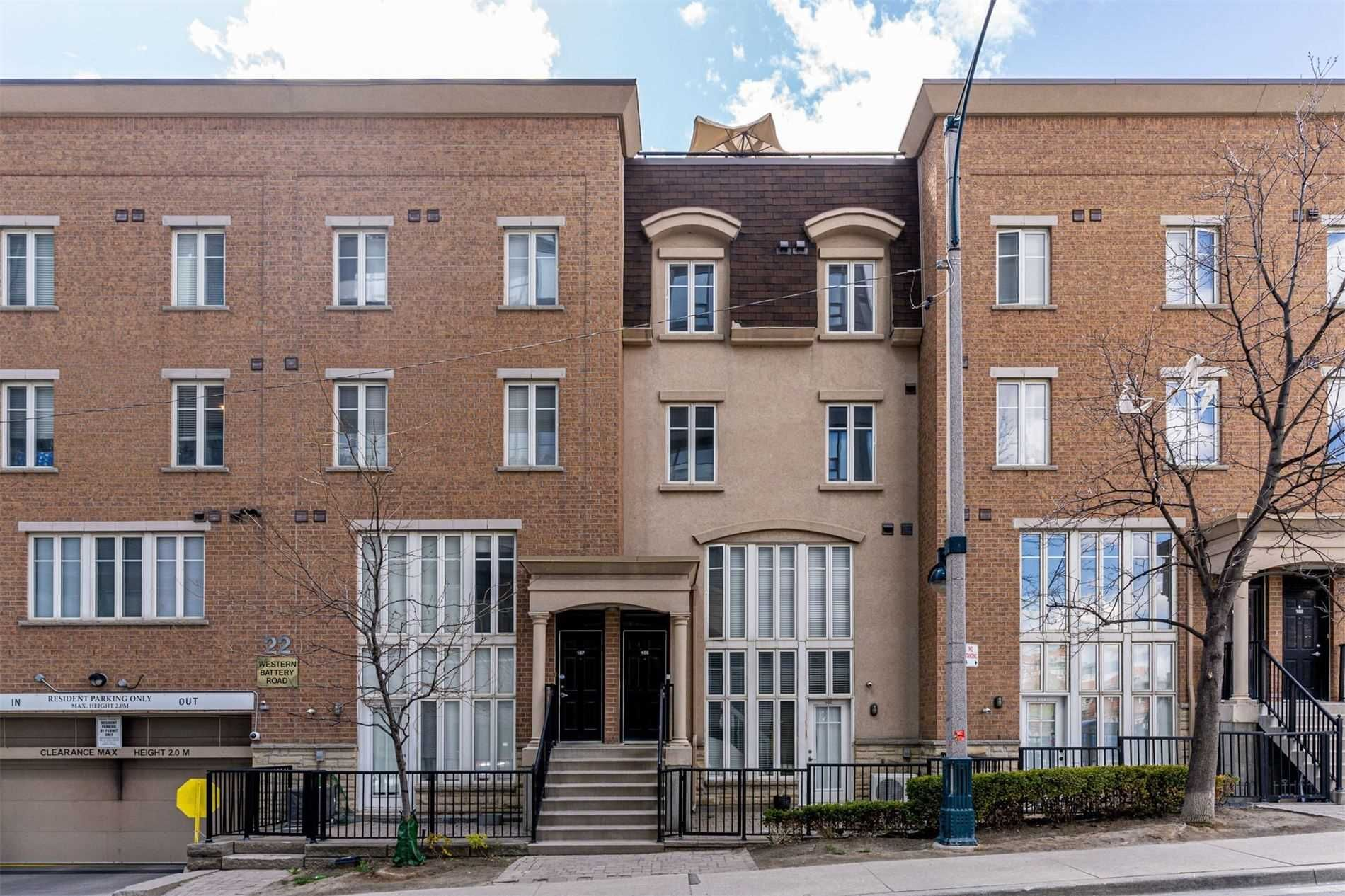 22 Western Battery Rd, unit 106 for sale in Toronto - image #1