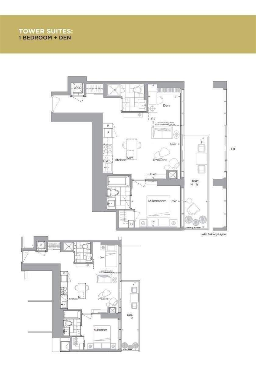 7 Grenville St, unit 1007 for rent in Toronto - image #2