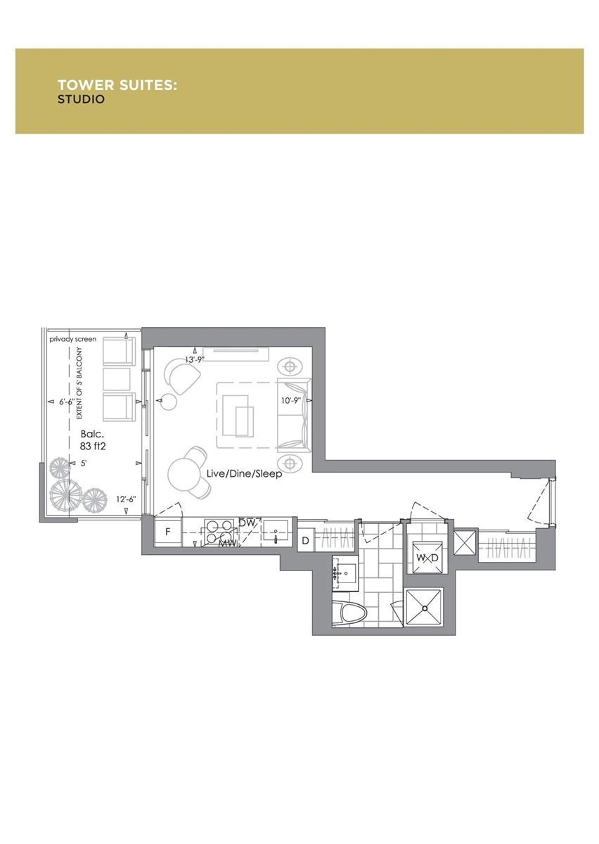 7 Grenville St, unit 4102 for rent in Toronto - image #2