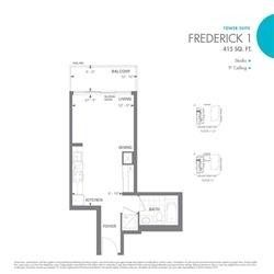 460 Adelaide St E, unit 1103 for rent in Toronto - image #2