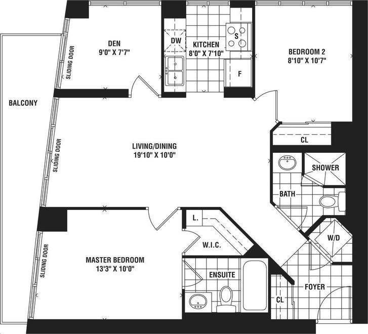 25 Lower Simcoe St, unit 1518 for rent in Toronto - image #2