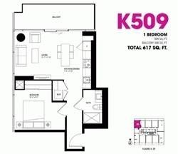 15 Grenville St, unit 505 for rent in Toronto - image #2